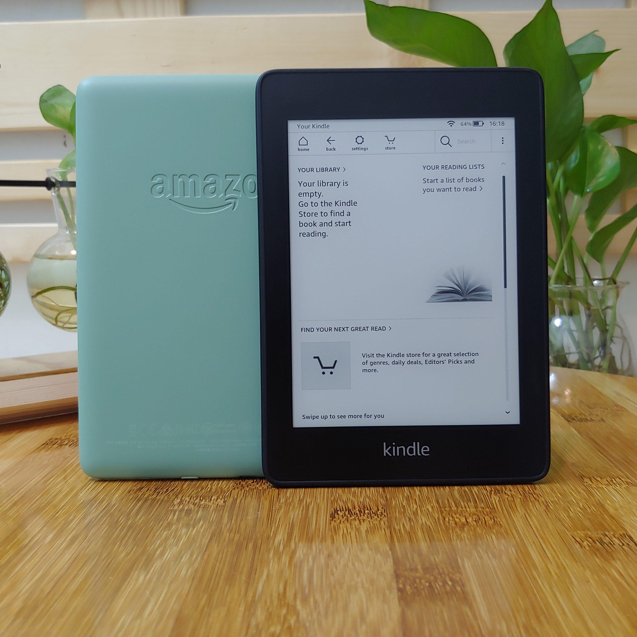"""[NEW REFURBISHED] Máy đọc sách Kindle Paperwhite Gen 4 (10th) bộ nhớ 8GB, màn hình 6"""" 300PPI có đèn nền,  Wifi, Bluetooth"""
