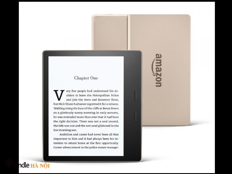 Máy đọc sách Kindle Oasis 2 (9th) O2 – bản 8gb Gold