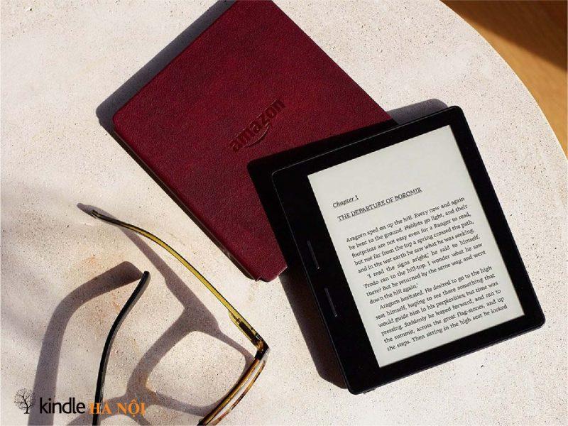 Máy đọc sách Kindle Oasis 1 – 8th – Khơi nguồn cảm hứng