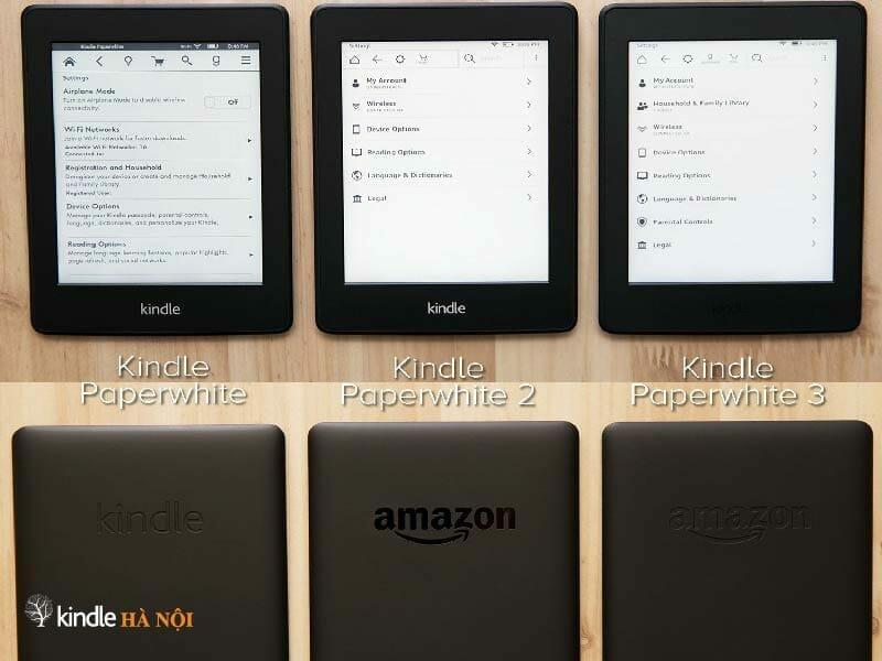 Máy đọc sách Kindle Paperwhite Gen 1,2,3