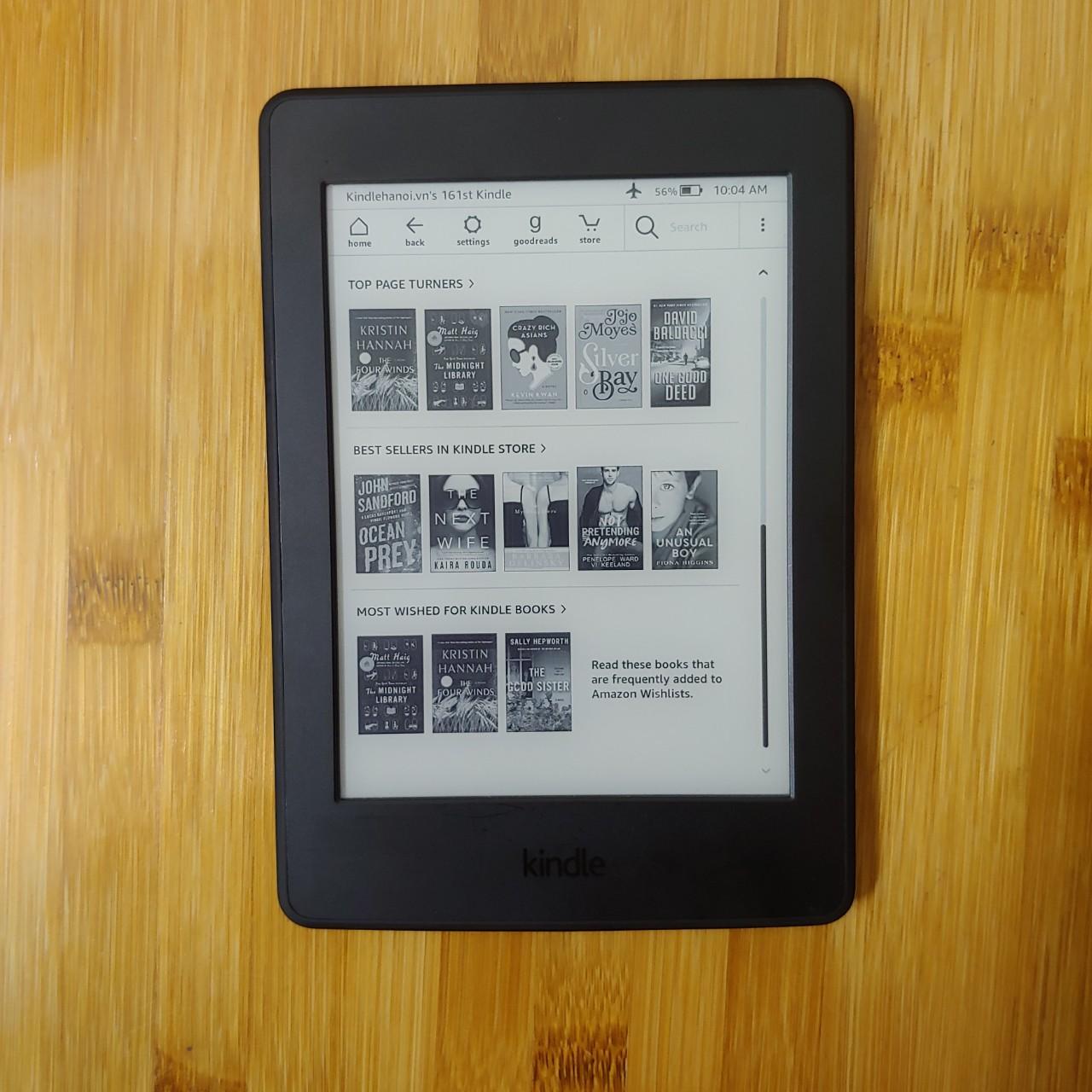 Máy đọc sách Kindle Paperwhite Manga Gen 3 (7th) (PPW Manga) 32GB – Hàng Like New