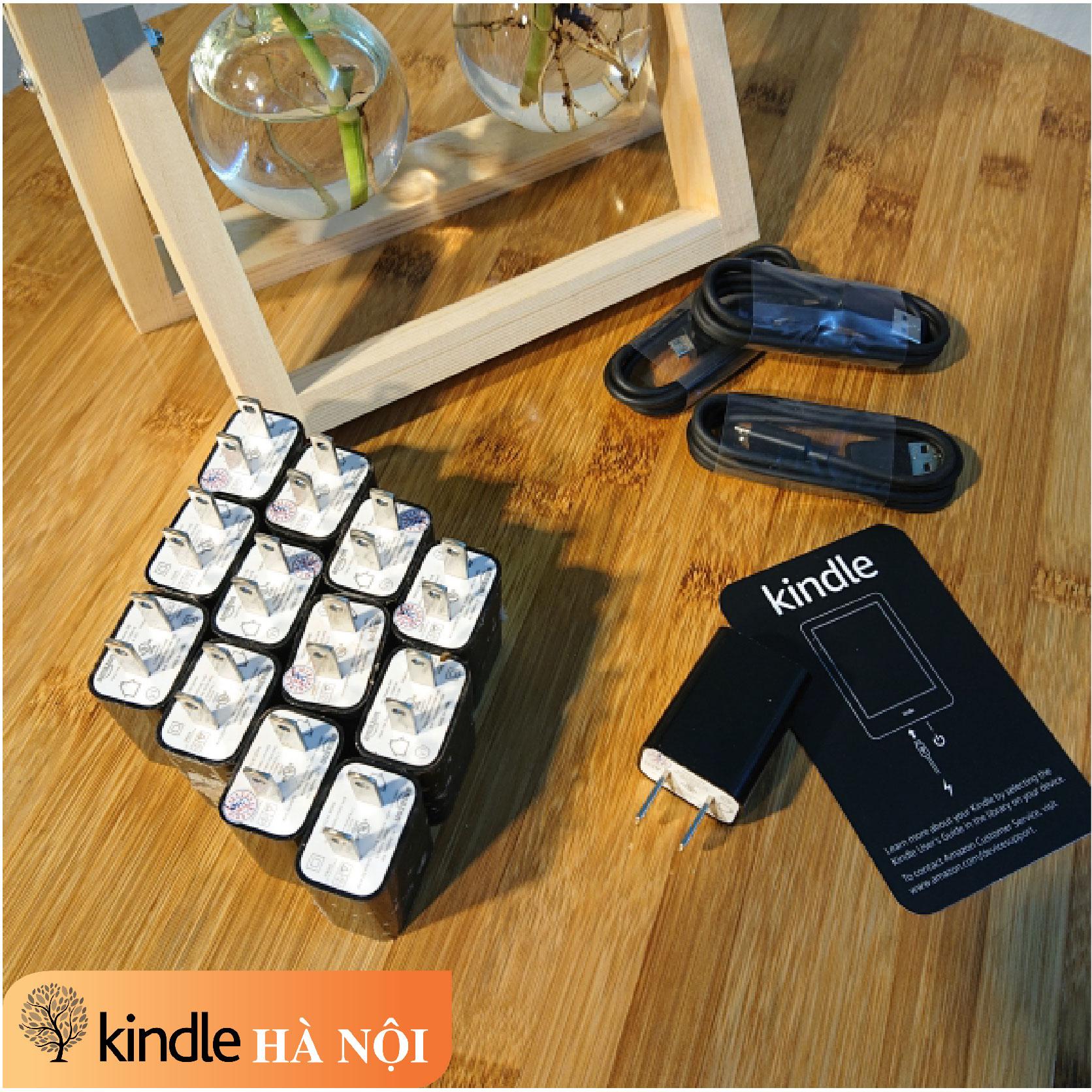 Bộ củ sạc và cáp cable sạc chính hãng Amazon cho máy đọc sách Kindle