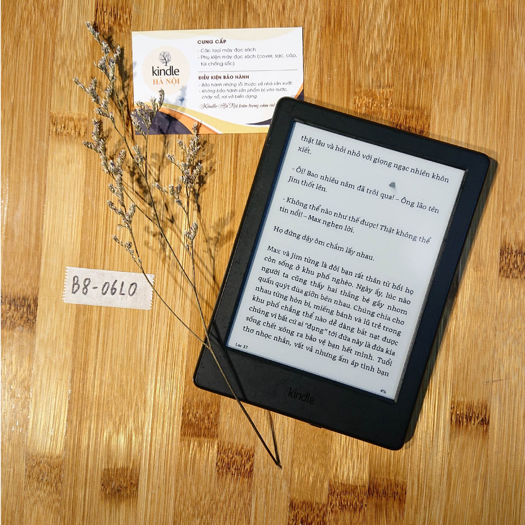Máy đọc sách Basic 8th B8 không đèn nền CODE 06L0