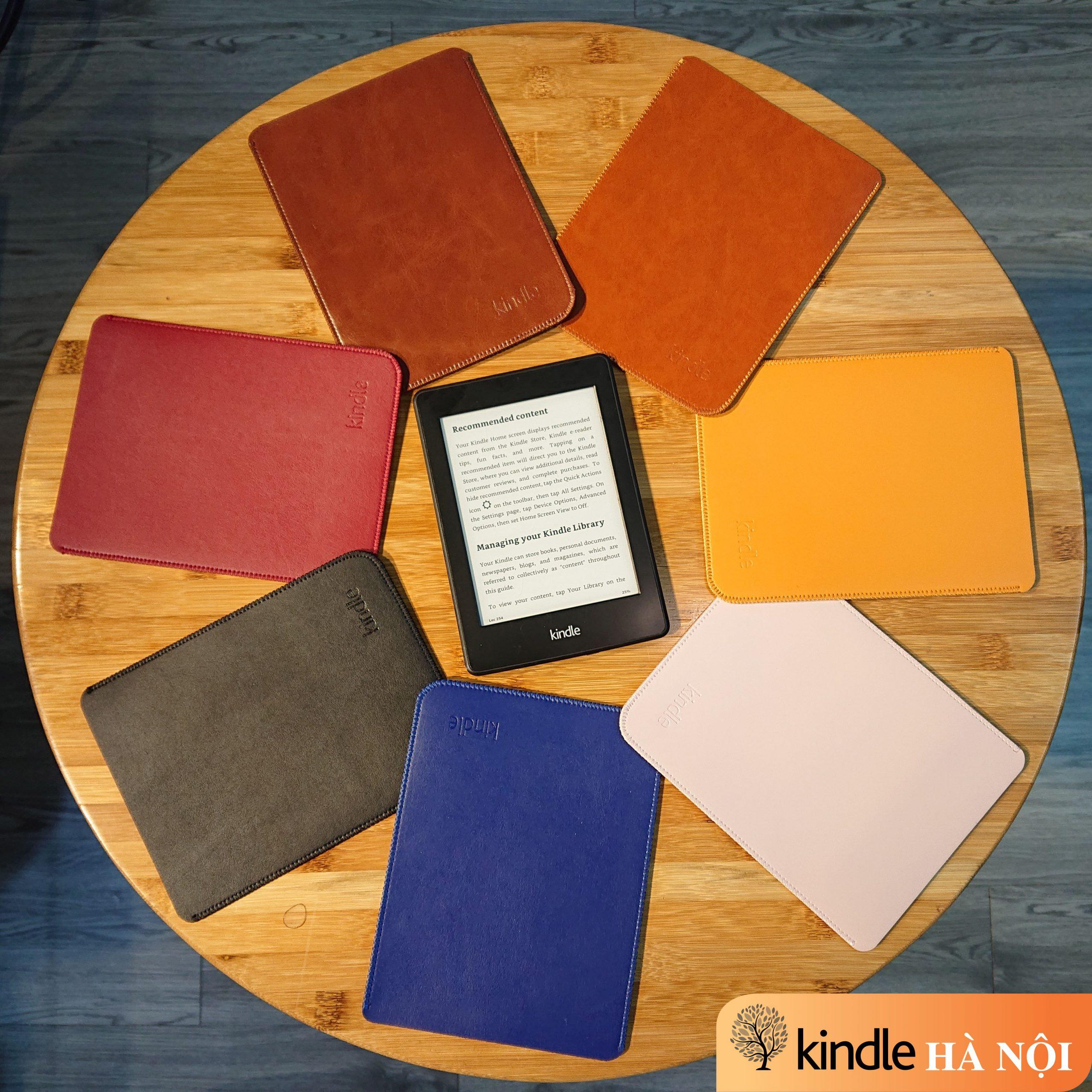 Túi Da cho máy đọc sách Kindle Basic, Paperwhite, Voyage