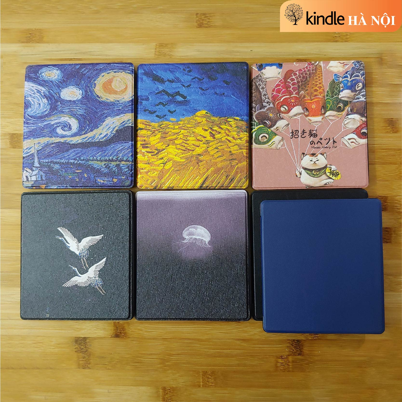 Bao Da Cover cho máy đọc sách Kindle Oasis 2 & 3
