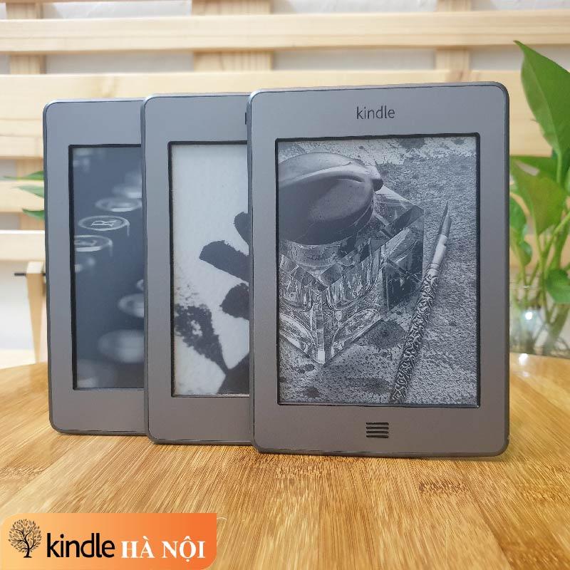 Máy đọc sách Kindle Touch 4th 4GB có tính năng Text-to-speech, nghe Mp3, Audible không đèn nền