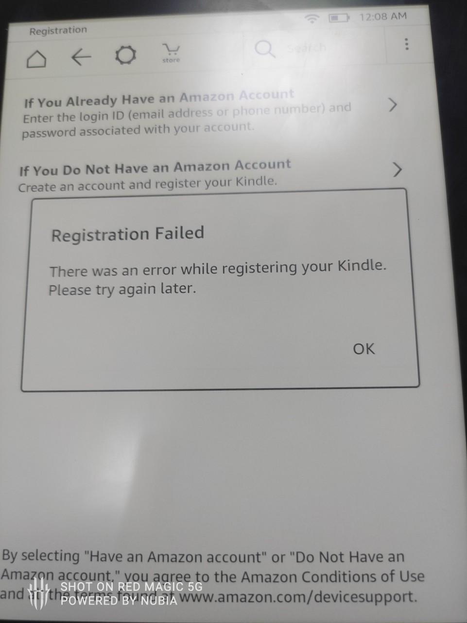 Vấn đề Blacklist của máy đọc sách và máy tính bảng Kindle