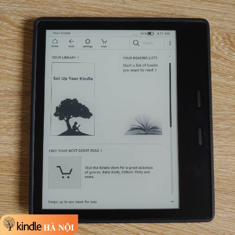 Hướng dẫn cài đặt siêu giản tiện cho người mới bắt đầu sử dụng kindle   kindlehanoi.vn